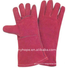 Welder leather working gloves