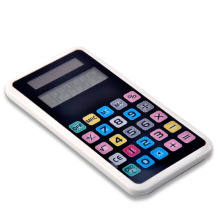 Calculatrice à double écran à écran tactile dans le style IPhone