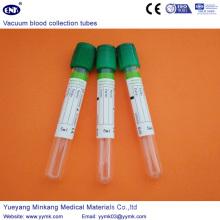 Tube d'héparine de tubes de prélèvement sanguin sous vide (ENK-CXG-029)