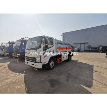 FAW 4x2 cooking oil fuel tank trucks sale