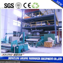 AL-3200SS 3.2m double beam PP spunbond non woven fabric making machine for Operation suit, Mask