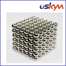 Nickel Coated Magnetic Balls Buckyball Toy (T-017)