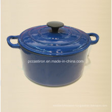 Popular Design Cast Iron Casserole Factory Dia 23cm