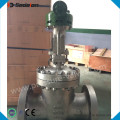 API 6D Stainless Steel Gear Operated Resilient Seated Gate Valve