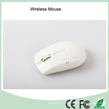 Material promocional de ABS Blanco Color Mini Wireless Computer Mouse