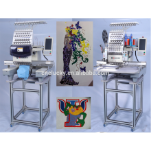 hot sale industrial use single head embroidery machine for baseball cap/sports shoes/t-shirt embroidery with ISO,SGS