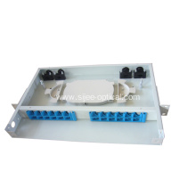 Fast Delivery for Best Fiber Optic Patch Panel,Fiber Optic Distribution Panel Manufacturer in China 24ports FTTH Fiber Optic Termination Box supply to Lesotho Manufacturer
