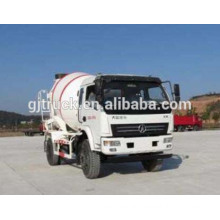 3-6 cubic meter Dayun 4x2 drive concrete mixer truck for construction use