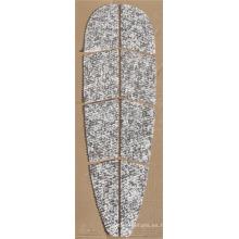 balck mezclado blanco EVA pad para SUP / tabla de surf para la venta de eva cojín de tracción