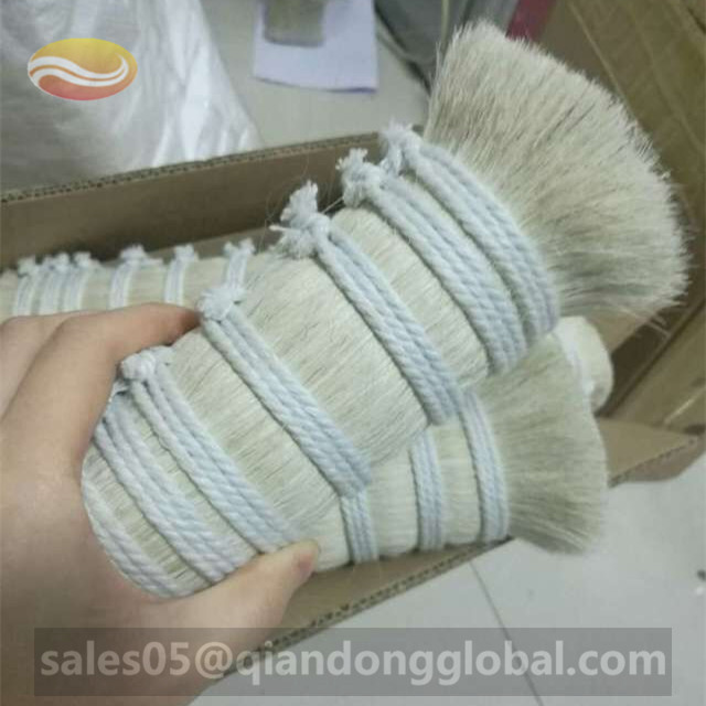 White Horse Mane Hair for Plaster