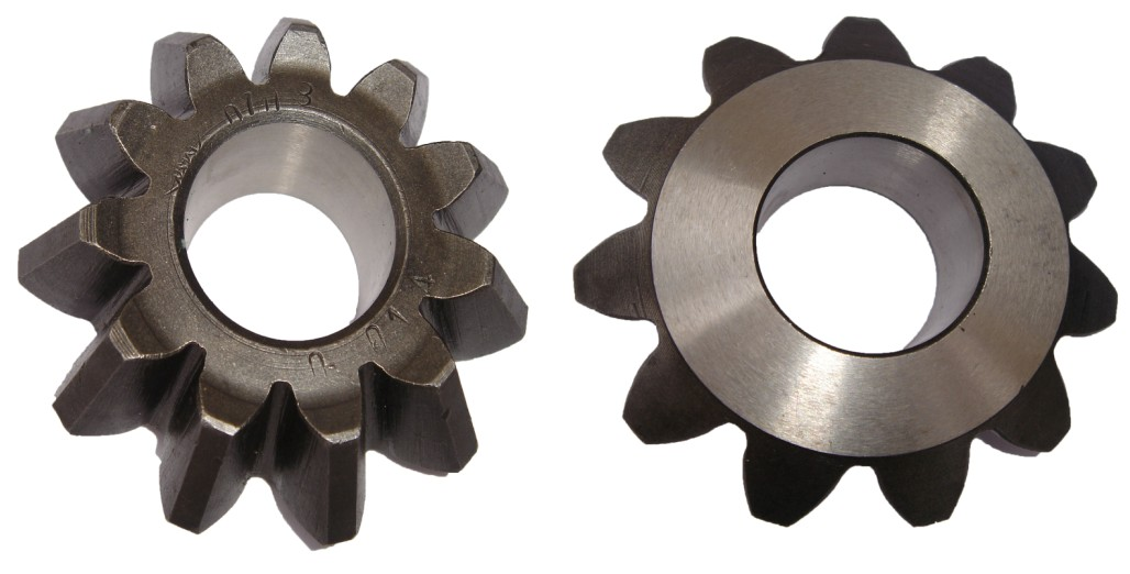 Forging Bevel Pinion in Mid Axle