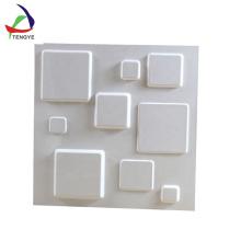 vide en plastique de PVC d'oem formant le fournisseur de panneau de mur de la texture 3d