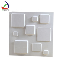 oem pvc plastic vacuum forming 3d texture wall panel supplier