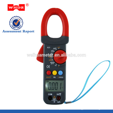 Digital Clamp Meter WH823 with Capacitance withTemperature Data Hold Frequency Duty Cycle