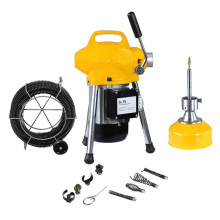 S75 drill sewer cleaning machine