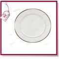 8′′ Ceramic Plate-Full White by Mejorsub
