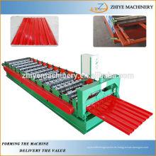 Riel de azulejo de acero IBR que forma la máquina