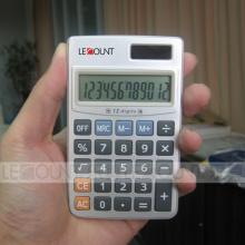 12-значный двойной карманный калькулятор с жесткой металлической крышкой (CA3061)