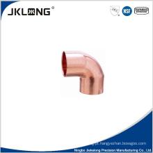 J9004 cobre forjado cotovelo cc de 90 graus 1 polegada de montagem de tubulação de cobre