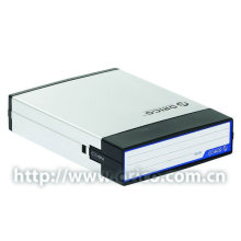 """ORICO AHP-35 (QUENTE) Preto prata alumínio metal HDD protetor, estojo, proteção gabinete HDD caixa de proteção 3.5 """"venda quente"""