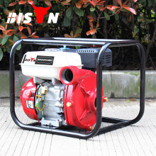 BISON China Taizhou 4-Stroke pequeña bomba de agua portable de la gasolina 5.5hp 2 pulgadas wp20