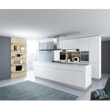2016 Pole MDF Lacquer Kitchen Cabinet