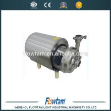 Pompe sanitaire en acier inoxydable, pompe centrifuge au lait de qualité fournisseur en Chine