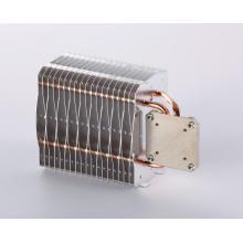 Disipador de calor de lámpara LED con tubos de calor de cobre sinterizado