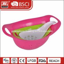 Good quality &Hot sale Plastic Colander Set