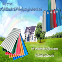 High Strength Anti-corrosion MGO Roofing Sheet For Warehouse
