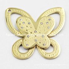 Pingente quente da borboleta do aço inoxidável da venda