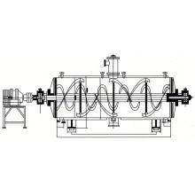 Secador de gradas de vacío de la serie ZPG 2017, secador de aerosol de vacío SS, secador continuo de hielo en polvo