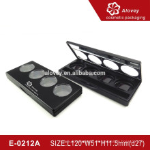 Vier Farbe Make-up Lidschatten Kompakt / Lidschatten Fall
