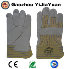 Ab grados de vaca grano de cuero guantes de trabajo
