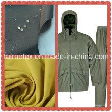 Le Taslon imperméable avec la finition enduite d'unité centrale pour le tissu de vêtement
