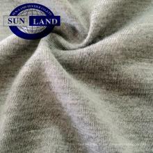 Tissu imperméable de jersey du coton knitting100 150gsm tricot pour des vêtements de pêche