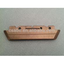 sliding copper contact
