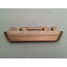 sliding copper contact
