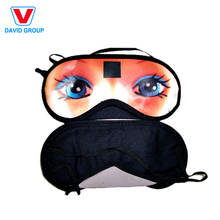 Cheap Promotion Gift Travel Custom Impreso Eye Mask