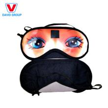 Masque pour les yeux imprimé à la main