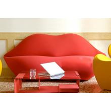 Ocio de labio moderno y creativo sofá para sala de estar