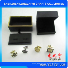 Professional custom luxury metal gold cufflinks, made in China