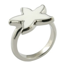 Ring Design Stern Ring Enamal Ring poliert