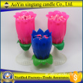 Opening Fireworks Flower Birthday Singing Candle
