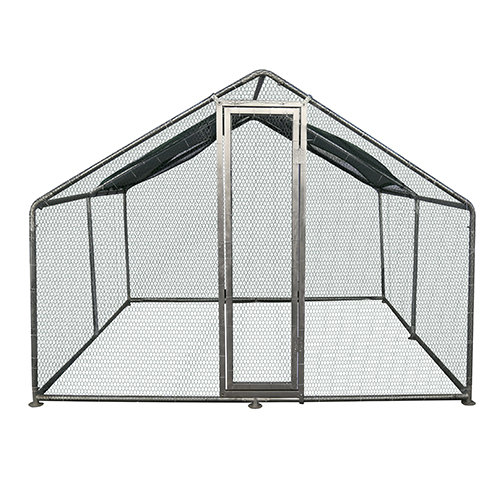 Galvanized Chicken Coop Run