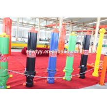 Bom cilindro hidráulico de produção, utilizado para máquinas e veículos para agricultura, construção e silvicultura