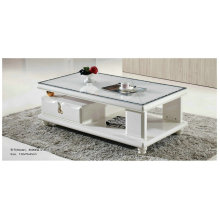 White Modern Marble Table for Living Room (8006)