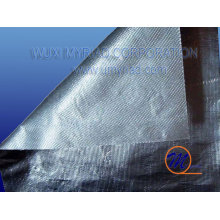 fireproof aluminum foil fiberglass cloth with mesh/aluminum foil backed fiberglass cloth