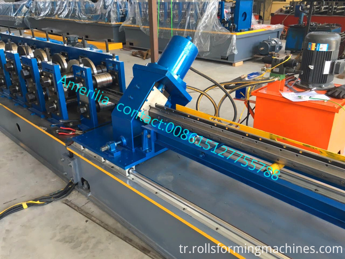 Rack Upright Rollforming Machine