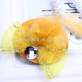 6 цветов уникальный дизайн шляпы формы моды дети заколки для волос